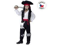 50227 - Kostým na karneval - Pirát, 110-120 cm