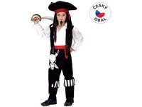 50228 - Kostým na karneval - Pirát, 120-130 cm