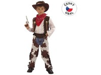 55428 - Kostým na karneval - Kovboj, 120-130 cm