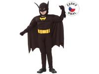 55444 - Karnevalový kostým Netopýří muž, 120-130cm