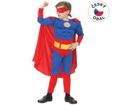 55462 - Kostým na karneval - Super hrdina, 120-130 cm