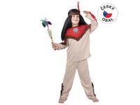 55486 - Kostým na karneval - Indián, 120-130 cm