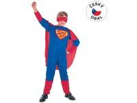 55537 - Kostým na karneval Super hrdina, 110-120cm