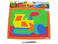 55668 - Puzzle soft, 4 druhy