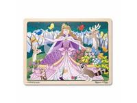 62849 - Puzzle dřevěné Princezna 24 dílků