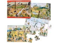 64586 - Puzzle Josef Lada, čtyři roční období