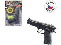 67509 - Pistolka na kartě s náhradními kuličkami
