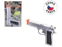 70386 - Pistole na kuličky na kartě na pružinu