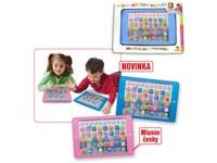 70631 - Dětský tablet, česko-anglický, 2 barvy