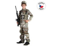 68945 - Kostým na karneval - Voják, 120-130 cm