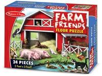 70259 - Puzzle podlahové farma 24 dílků