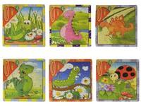 71074 - Puzzle zvířátka 16 dílků