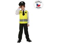 75047 - Kostým na karneval Policie, 120-130cm