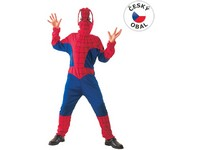 75066 - Kostým na karneval Pavoučí hrdina, 130-140cm