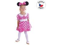 75147 - Kostým na karneval - Princezna Myšička, (92 - 104 cm)