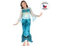 82419 - Kostým na karneval Mořská panna, 120-130cm