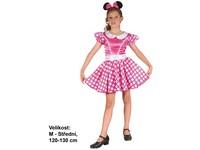 82437 - Kostým na karneval - Princezna Myška, 120-130 cm