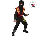 82459 - Kostým na karneval - Ninja, 120-130 cm