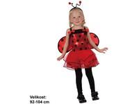 82495 - Kostým na karneval - Beruška v sukýnce, 92-104 cm