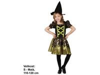 86085 - Kostým na karneval - Čarodějka, 110 - 120 cm