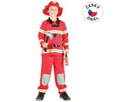 86095 - Kostým na karneval - Hasič, 110 - 120 cm