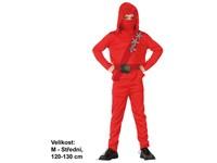 86137 - Šaty na karneval - Ninja, 120 - 130 cm