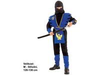 86141 - Kostým na karneval Ninja, 120-130cm
