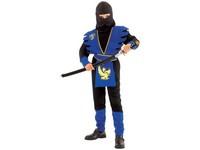 86142 - Kostým na karneval Ninja, 130-140cm