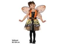 86164 - Kostým na karneval - Motýlí víla,  92 -104 cm