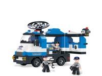87121 - Stavebnice auto policie, 265 ks