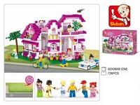 87179 - Stavebnice luxusní vila, 726 ks