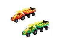 87432 - Traktor Altaj,  s přívěsem