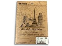 89038 - Puzzle 3D - světové budovy, 55 dílků