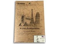 89049 - Puzzle 3D  - světové budovy, 29 dílků