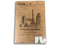 89050 - Puzzle 3D  - světové budovy, 37 dílků