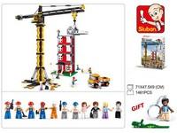 90107 - Stavebnice věžový jeřáb, 1461 ks