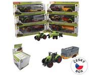 90773 - Traktor s přívěsem