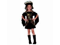 91220 - Kostým na karneval Pirátka, 120-130cm