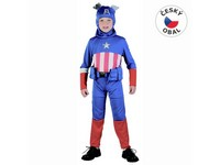 91251 - Kostým na karneval Hrdina, 120-130cm