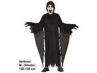 91253 - Kostým na karneval Démon, 120-130cm