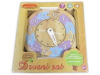 91292 - Dřevěné hodiny