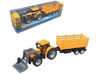 92173 - Traktor s vlečkou, zpětný chod