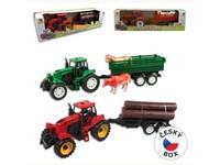 92968 - Traktor s přívěsem