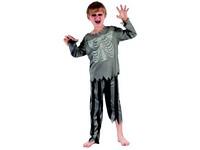 95500 - Šaty na karneval - pirát kostra, 120-130 cm