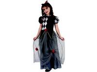 95526 - Šaty na karneval - princezna šašek, 120-130 cm