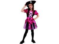 95530 - Šaty na karneval - pirátka, 120-130 cm