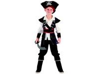 95533 - Šaty na karneval  -pirát, 120-130 cm