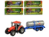 95595 - Traktor s přívěsem, 33cm