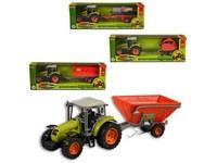 95596 - Traktor s přívěsem, 33cm