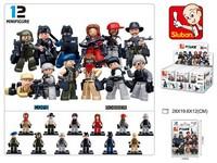 95765 - Kostky - policie 48  ks